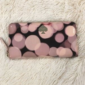 Kate Spade All That Glitters Wallet in Pink